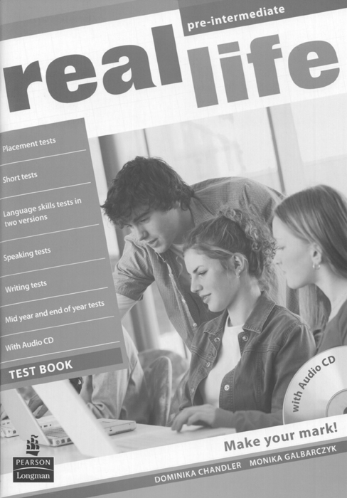 Real Life: Pre-Intermediate: Test Book (+ CD) learning english language via snss and students academic self efficacy