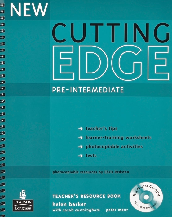 New Cutting Edge: Pre-Intermediate: Teacher's Resource Book (+ CD-ROM) new 305 pcs plasma cutter cutting consumables for pt31 cut40 cut30 cut50 ct520 520tsc consumables tips electrodes