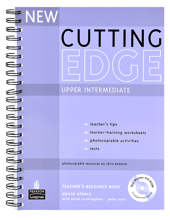 Cutting Edge: Upper-Intermediate: Teacher's Resource Book (+ CD-ROM) new cutting edge pre intermediate students book with mini dictionary cd rom