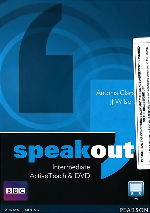 Speakout: Intermediate: Active Teach interactive whiteboard system