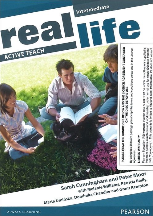 Real Life: Intermediate: Active Teach total english pre intermediate students book dvd rom