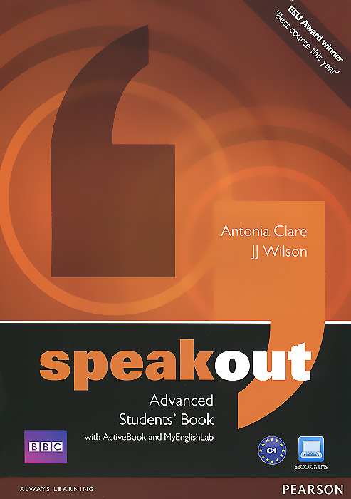 Фото - Speakout: Advanced: Student's Book with Active Book and My English Lab (+ DVD-ROM) speakout starter student s book with dvd myenglishlab 2ed
