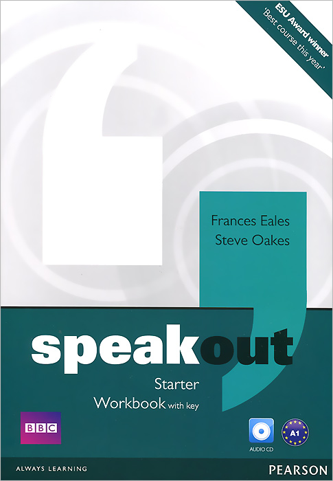 Speakout: Starter: Workbook with Key (+ CD-ROM) blue fins starter level cd rom