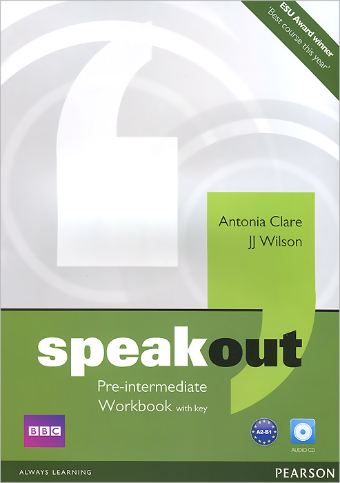 Speakout: Pre-Intermediate: Workbook with Key (+ CD-ROM) калькулятор citizen sdc 444s 12 разрядный черный