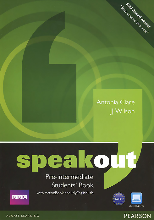 Speakout: Pre-Intermediate: Student's Book with Active Book and My English Lab(+ DVD-ROM) цена и фото