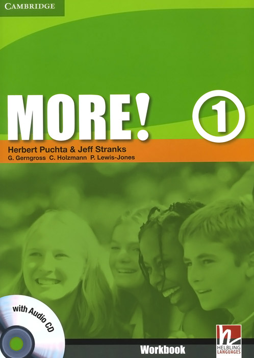 More! Level 1: Workbook (+ CD-ROM) team up 1 sb reader with audio cd