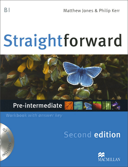 Straightforward Pre-Intermediate: Workbook with Answer Key (+ CD) roberts rachael sayer mike insight pre intermediate workbook