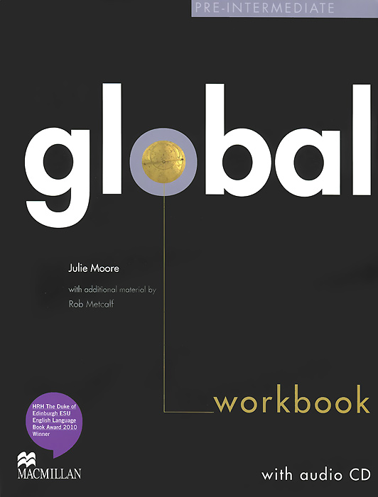 Global Pre-Intermediate: Workbook (+ CD-ROM) roberts rachael sayer mike insight pre intermediate workbook