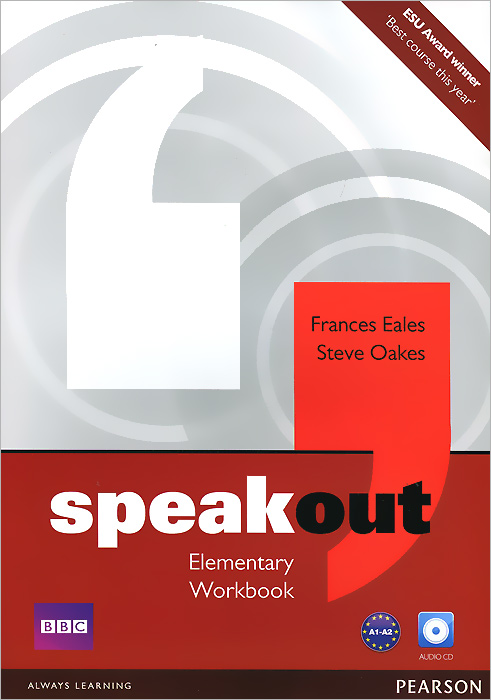 Speakout: Elementary: Workbook (+ CD-ROM) driscoll l cambridge english skills real reading 3 with answers