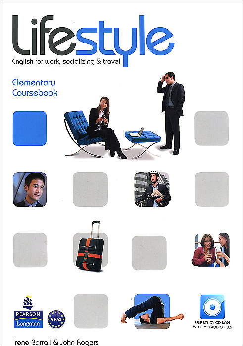 Lifestyle Elementary: Coursebook (+ CD-ROM) english unlimited elementary coursebook dvd rom