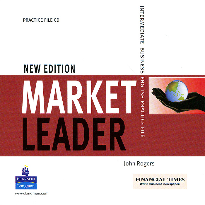 Market Leader: Intermediate: Business English Practice File (аудиокурс CD) market leader advanced business english course book dvd rom