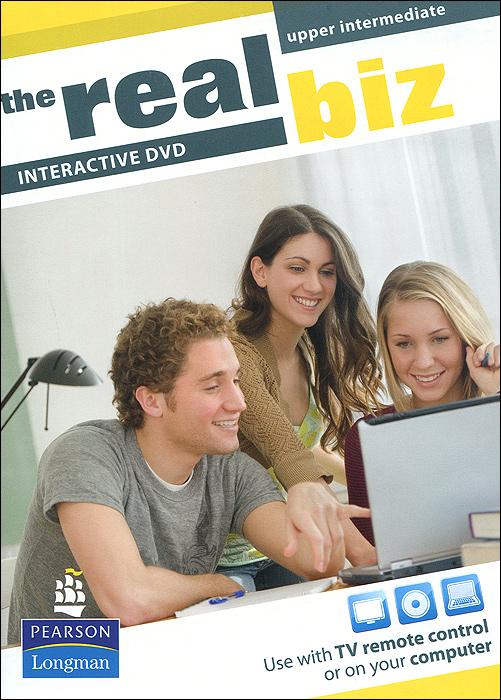 The Real Biz: Upper Intermediate: Interactive DVD powell mark allison john in company 3 0 upper intermediate students book pack