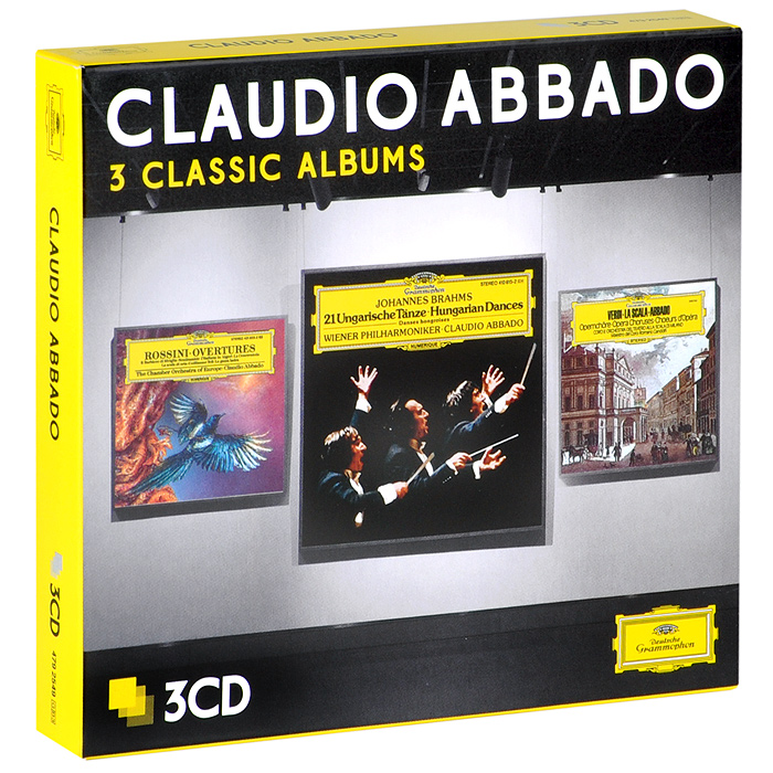 Claudio Abbado. Three Classic Albums (3 СD)