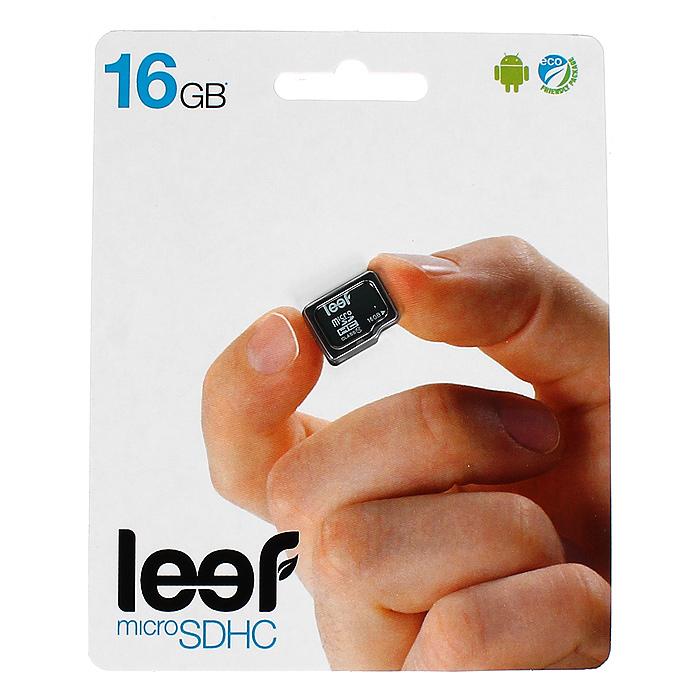 Leef microSDHC 16GB, Class 10 без адаптера