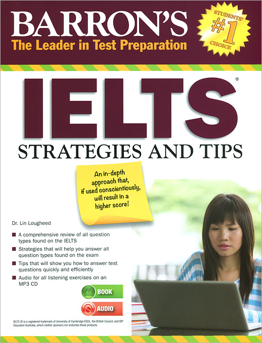 Barron's: IELTS: Strategies and Tips objective ielts advanced student s book with cd rom