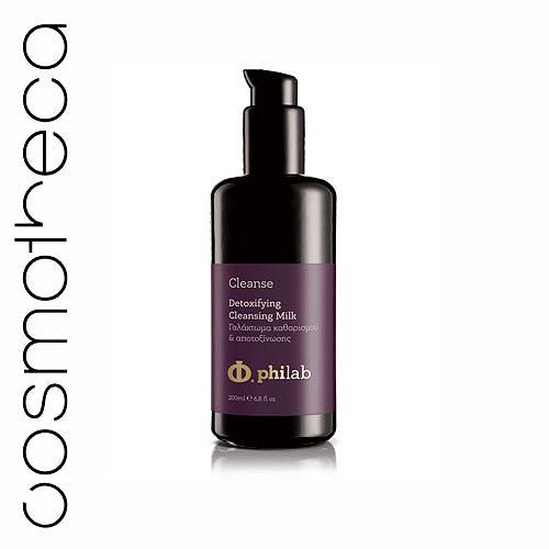 Philab Молочко-детокс для лица, очищающее, 200 млPHL1101Очищенная гиалуроновая кислота с низким молекулярным весом создает защитный барьер на поверхности эпидермиса, обеспечивая глубокое увлажнение кожи. Экстракт виноградных косточек, экстракт граната, витамин Е, оливковое масло снимают стресс кожи, вызванный окислительными процессами. Масло ши, масло жожоба, масло авокадо питают, увлажняют и поддерживают кожный баланс. Характеристики:Объем: 200 мл. Артикул: PHL1101. Производитель: Греция. Товар сертифицирован.