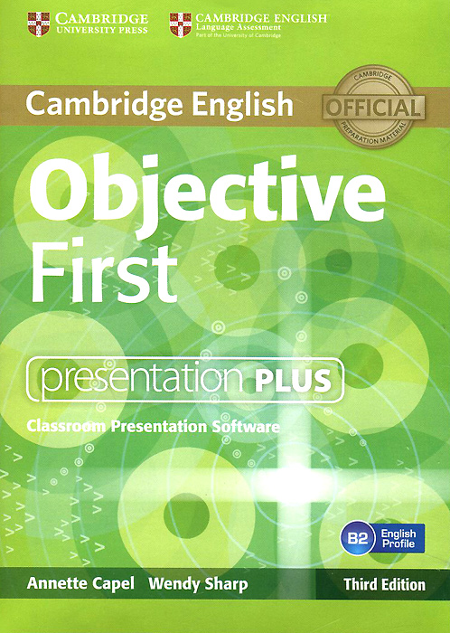 Objective First: Presentation Plus: Classroom Presentation Software