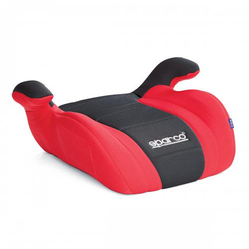 Бустер Sparco, группы 2/3 (15-36 кг/ 4-9 лет), полиэстер, наполнитель: поролон, цвет: черный, красный, 1/6SPC/DK-500 BK/RDУдерживающее устройство кресло-бустер Sparco устанавливается на автомобильное кресло, увеличивая высоту сиденья, что позволяет надежнее зафиксировать ребенка во время поездки. Модель относится к группе 2/3 и рассчитана на детей от 4 до 9 лет массой от 15 до 36 кг. Крепится штатным ремнем безопасности. Чехол изготовлен из износостойкого полиэстера, наполнитель - поролон, основа сделана из прочного не колкого пластика. Характеристики:Материал: полиэстер, пластик. Наполнитель: поролон. Толщина наполнителя: 3 см. Размеры кресла: 205 мм х 445 мм х 365 мм. Способ установки: по движению. Артикул: SPC/DK-500 BK/RD.