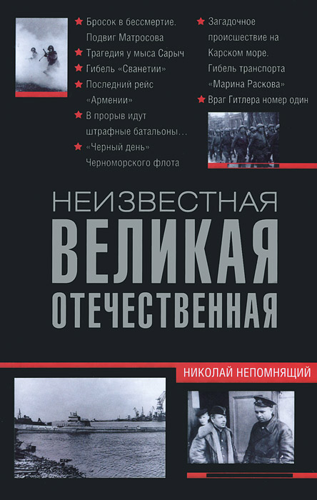 Николай Непомнящий Неизвестная Великая Отечественная война народная великая отечественная война 1941 1945