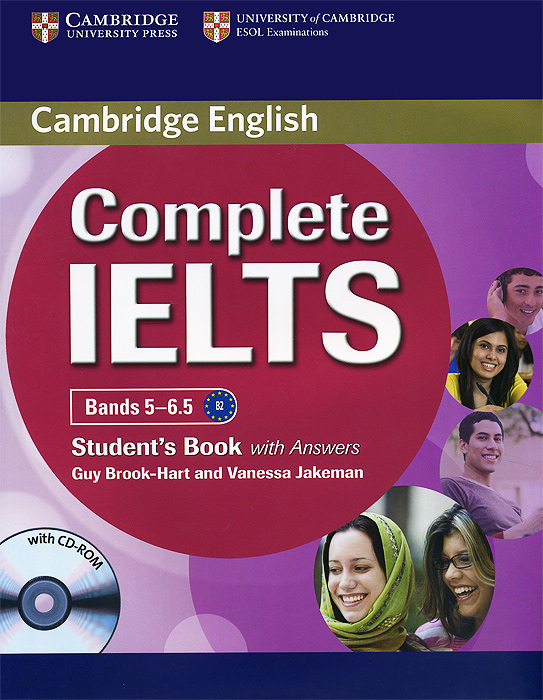 Complete IELTS: Bands 5-6: 5 Student's Book complete advanced student s book with answers cd rom