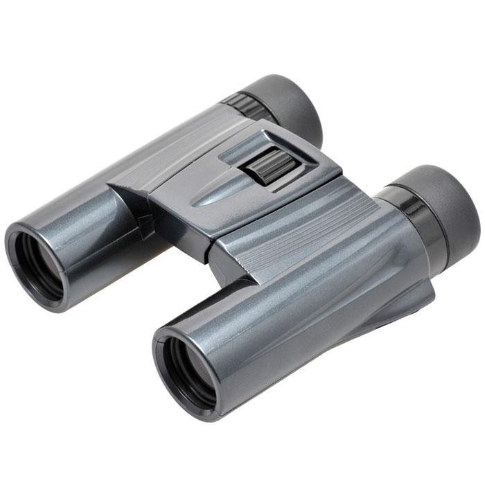 Kenko Ultra View 10x25 DH, Black бинокль5607Все бинокли Pastel серии ultraVIEW выполнены в новом современном дизайне и представлены богатой цветовой гаммой корпусов: красный, розовый, фиолетовый, серебряный, белый, чёрный. Данная линейка биноклей выгодно отличается не только стильным внешним видом, но и многофункциональностью применения в комбинации с улучшенными оптическими характеристиками.Основные характеристики биноклей Kenko ultraVIEW 10x25 Pastel:•Суперкомпактный и лёгкий (вес 285 г), диаметр объектива 25 мм •Многослойное просветление •Roof-призма из стекла BaK-4 обеспечивает чёткое и контрастное изображение с хорошей цветопередачей•Использование экологически чистых материалов •Большое увеличение - 10 крат Основное назначение бинокля KENKO ULTRA VIEW 10x25 DH (Black)Бинокль KENKO ULTRA VIEW 10x25 DH (Black) прекрасно подойдёт для проведения любительских наблюдений при достаточном уровне освещённости (дневное время суток, ранние сумерки). Вы сможете наблюдать за жизнью птиц и зверей или игрой любимой спортивной команды, обозревать окрестности или любоваться красотой природы во время прогулки или туристического путешествия.Конструктивные особенности бинокля KENKO ULTRA VIEW 10x25 DH (Black)Бинокль KENKO ULTRA VIEW 10x25 DH (Black) выполнен в корпусе из качественного пластика (поликарбоната), устойчив к механическим и температурным воздействиям. Полимерное покрытие корпуса (эластомер) не скользит в руках и надёжно защищает оптическую конструкцию прибора от вмятин и вредного воздействия окружающей среды. Цвет корпуса - черный.Использование Roof призм в конструкции прибора значительно уменьшает вес и габаритные размеры бинокля KENKO ULTRA VIEW 10x25 DH (Black), его легко перевозить в сумке или рюкзаке, удобно держать в руках или носить на шее с помощью ремешка, входящего в комплект. Для увеличения светопропускания все линзы KENKO ULTRA VIEW 10x25 DH (Black) имеют многослойное просветляющее покрытие, которое характеризуется низкими потерями на отражение и усиливает 