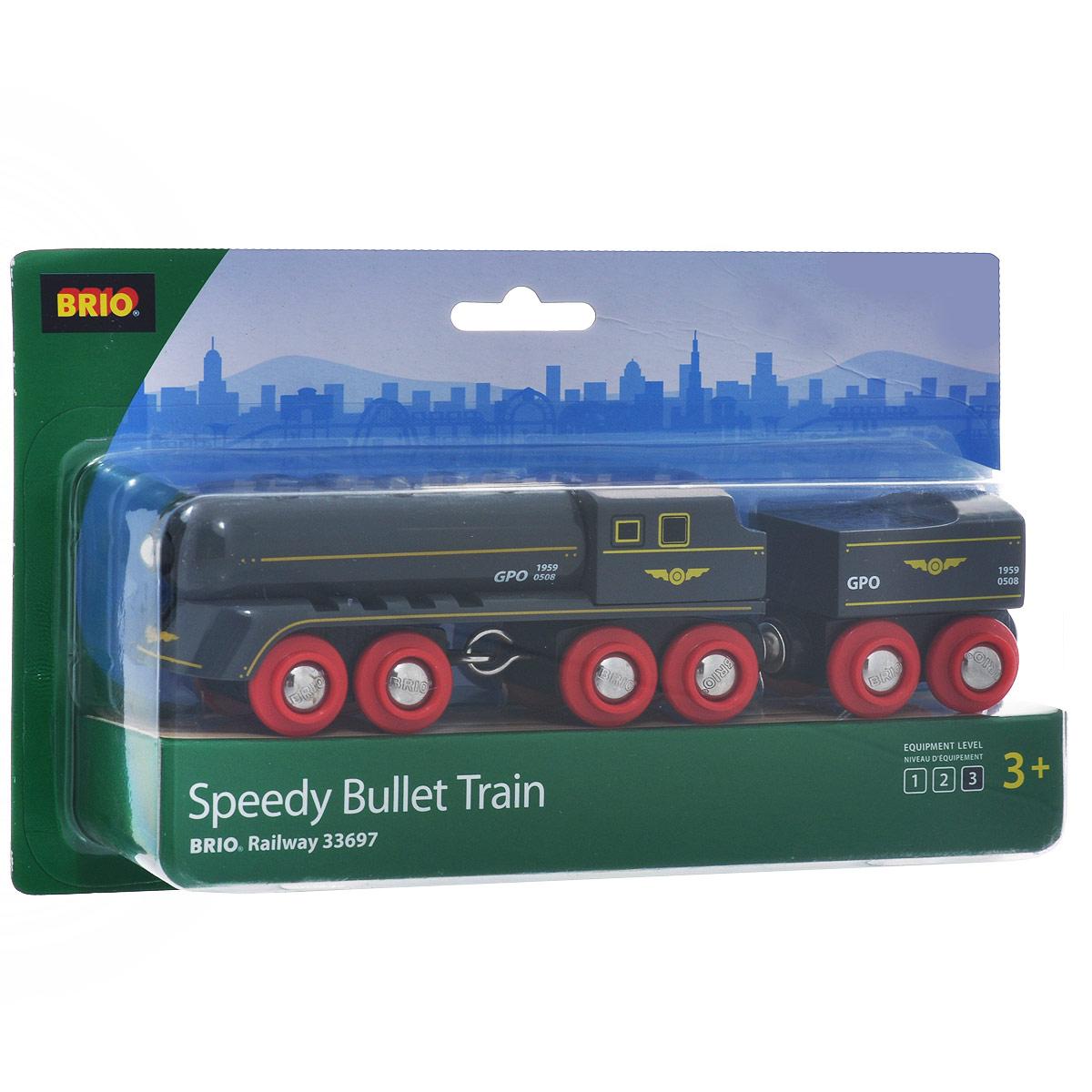 Игрушка Brio Скорый поезд brio поезд 33595