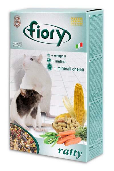 Смесь для крыс Fiory Ratty, 850 г корм для кроликов fiory karaote 850 г