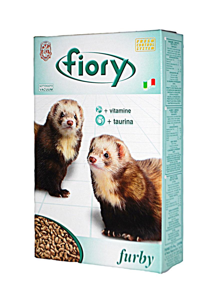 Корм для хорьков Fiory Furby, 650 г06555Корм для хорьков Fiory Furby - это основной корм для домашних хорьков, обогащенный таурином. Таурин - это испытанный внутриклеточный осмолит, который является важным элементом в регулировании объема клетки, также он участвует в синтезе желчи. Имея в своем составе 42% белков и витамины A, D3 и E, этот продукт имеет восхитительную формулу.Состав: мясо и продукты мясного происхождения, субпродукты растительного происхождения, злаковые, масла и жиры, рыба и рыбные субпродукты, минеральные вещества, таурин и антиоксиданты, одобренные ЕЭС, витамины А, Д3, Е.Товар сертифицирован.