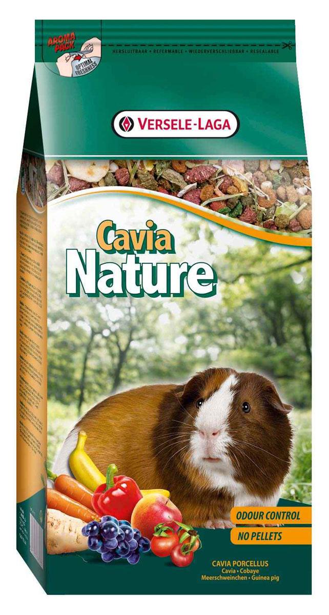 Корм для морских свинок Versele-Laga Cavia Nature, 750 г versele laga корм для грызунов versele laga crispi cavia для морских свинок 0 4 кг