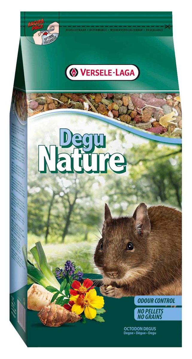 Корм для дегу Versele-Laga Degu Nature, 750 г461362Versele-Laga Degu Nature - это полноценный основной корм для дегу, разработанный в соответствии с их пищевыми потребностями. Это высококачественная смесь природных компонентов, которая содержит все необходимые для организма питательные вещества, витамины, минералы и аминокислоты, необходимые для жизнерадостной и здоровой жизни вашего питомца. Versele-Laga Degu Nature содержит дополнительное количество клетчатки, трав, овощей и добавок, важных для здоровья: обеспечивает превосходное пищеварение, гигиену полости рта, сияющую шерсть и великолепное здоровье. Широкое разнообразие ингредиентов гарантирует превосходный вкус и усвояемость. Не содержит прессованных гранул, злаков и сахара!Указания к использованиюРекомендуемая дневная порция для дегу составляет 30 грамм. Обеспечивайте вашему питомцу свежий корм и питьевую воду ежедневно. Также предоставьте достаточное количество сена.Состав: продукты растительного происхождения, овощи, экстракты растительного белка, минералы, семена, дрожжи, фруктоолигосахариды, травы, морские водоросли, экстракт календулы, экстракт юкки, маннанолигосахариды косточек винограда, календула.Анализ состава: 14% белки, 3,5% жиры, 15% сырая клетчатка, 6% сырая зола, 0,8% кальций, 0,55% фосфор, 0,62% лизин, 0,23% метионин. Добавки на кг: витамин А 12000 МЕ, витамин D3 1500 МЕ, витамин Е 40 мг, витамин С 85 мг, сульфат меди (II) 11 мг.Вес: 750 г.Товар сертифицирован.
