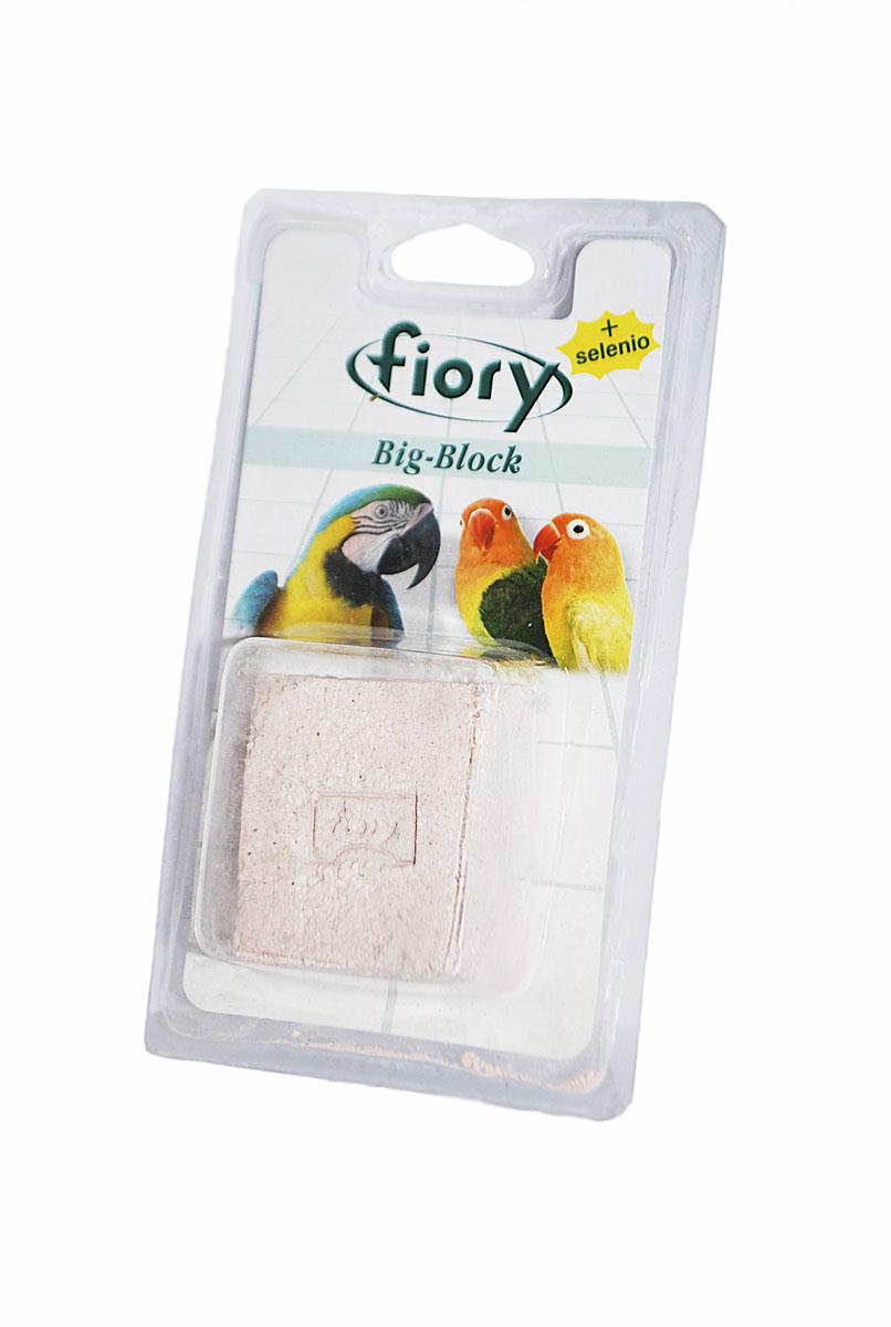 добавка для рептилий рептилайф витаминно минеральная порошок уп 30 г Био-камень для крупных птиц Fiory, 100 г