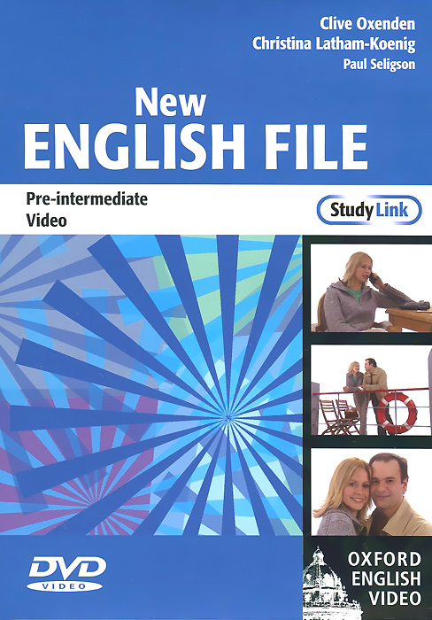 New English File: Pre-intermediate: Oxford English Video mackie g link intermediate wook book