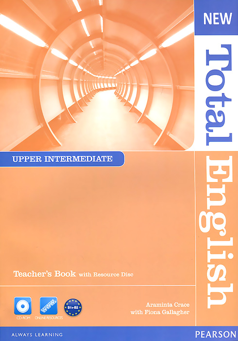 New Total English: Upper Intermediate: Teacher's Book (+ CD-ROM) mccarthy m english vocabulary in use upper intermediate 3 ed with answ cd rom английская лексика