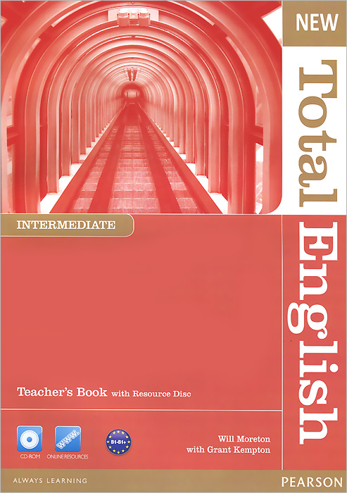 New Total English: Intermediate: Teacher's Book (+ CD-ROM) new total english pre intermediate teacher's book cd rom
