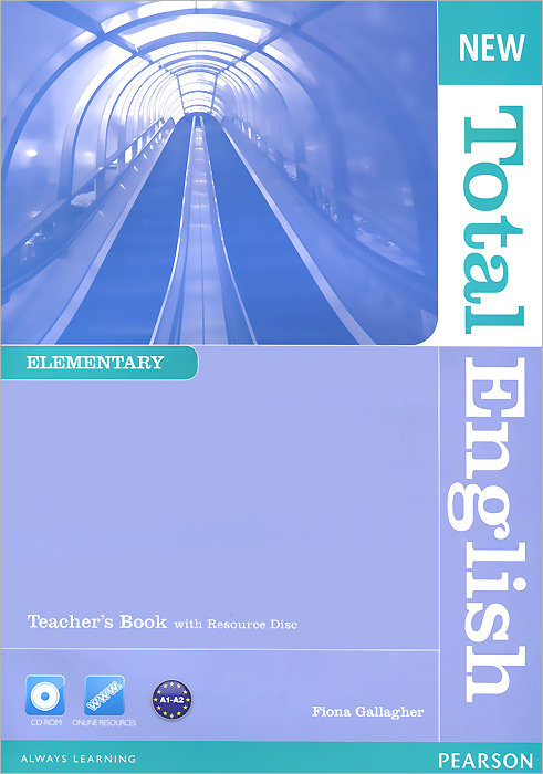 New Total English: Elementary: Teacher's Book (+ CD-ROM) 2pcs lot ds12c887 ds12c887 original authentic and new free shipping ic