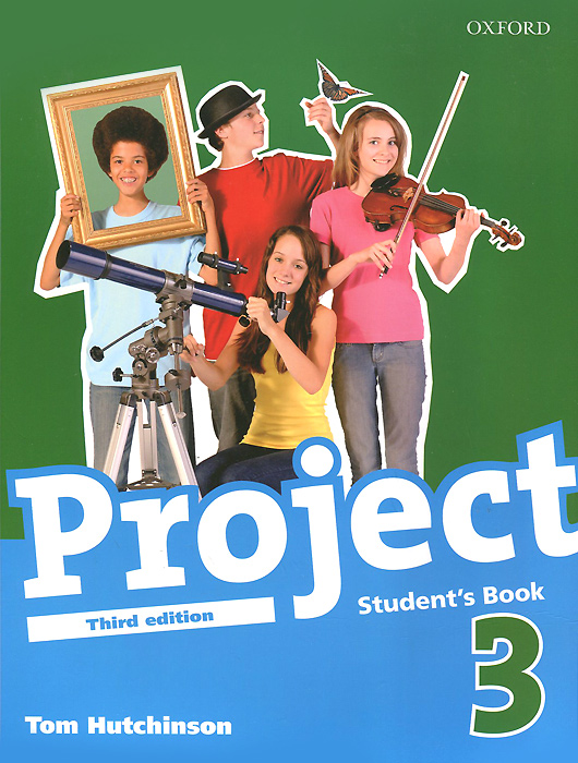 Project 3: Student's Book project 5 dvd rom