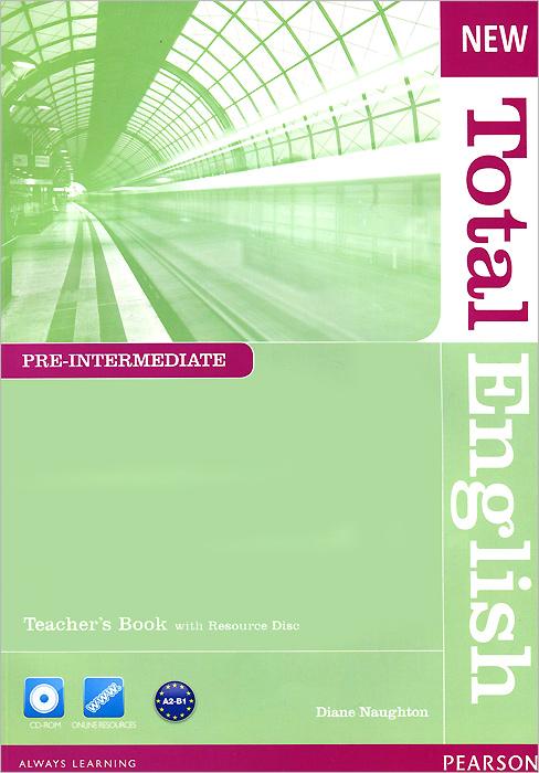 New Total English: Pre-Intermediate: Teacher's Book (+ CD-ROM) 2pcs lot ds12c887 ds12c887 original authentic and new free shipping ic