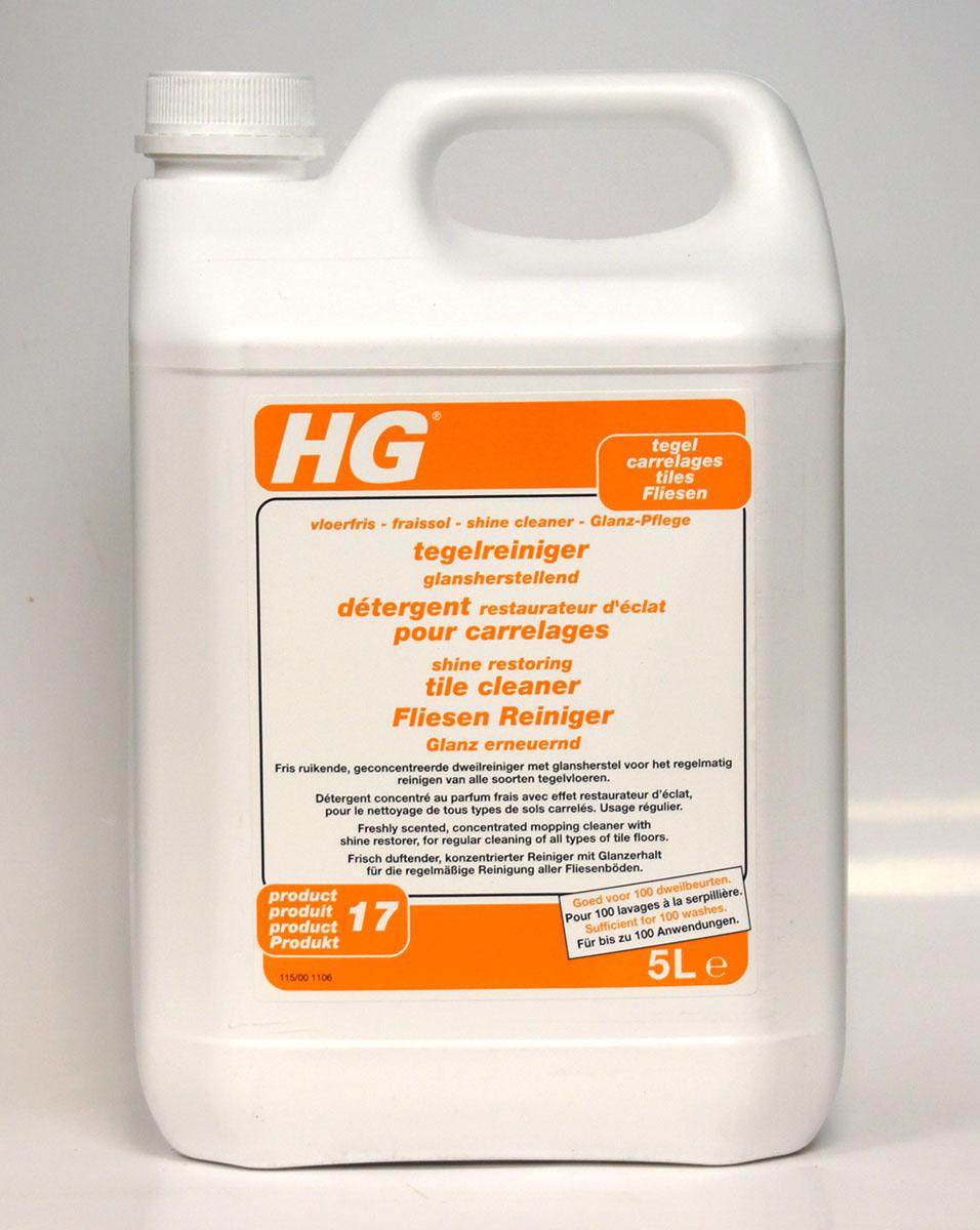 Моющее средство для напольной плитки HG, 5 л115500100Средство придает всем видам кафельного и каменного пола неповторимый блеск. Обладая свежим запахом, средство усиливает цвет покрытия и защищает пол от въевшихся пятен, значительно упрощая процесс уборки. Средство не скапливается на полу, т.к. обновляется при каждой уборке.очищает и защищаетусиливает цвет и подчеркивает текстуру плитки, придавая атласный блескдля мытья всех видов каменного и кафельного полаИнструкция по применению: Разведите 50 мл (полколпачка) в 2,5 л теплой воды. Вымойте пол (при необходимости с небольшим нажимом). Регулярно прополаскивайте салфетку для мытья пола в отдельном ведре с чистой водой. Меняйте воду по мере загрязнения. Не промывайте пол водой после обработки во избежание удаления слоя блеска. Дайте полу полностью высохнуть.Меры предосторожности: 2 - Хранить в недоступном для детей месте. S46 - В случае проглатывания немедленно обратиться за медицинской помощью и показать эту упаковку или этикетку. Содержит триизобутилфосфат. Может вызвать аллергические реакции. Беречь от замерзания. Характеристики:Размер емкости: 18 см х 12,5 см х 28,5 см. Размер упаковки: 18 см х 12,5 см х 28,5 см. Состав: неионные поверхностно-активные вещества, консерванты, отдушки.