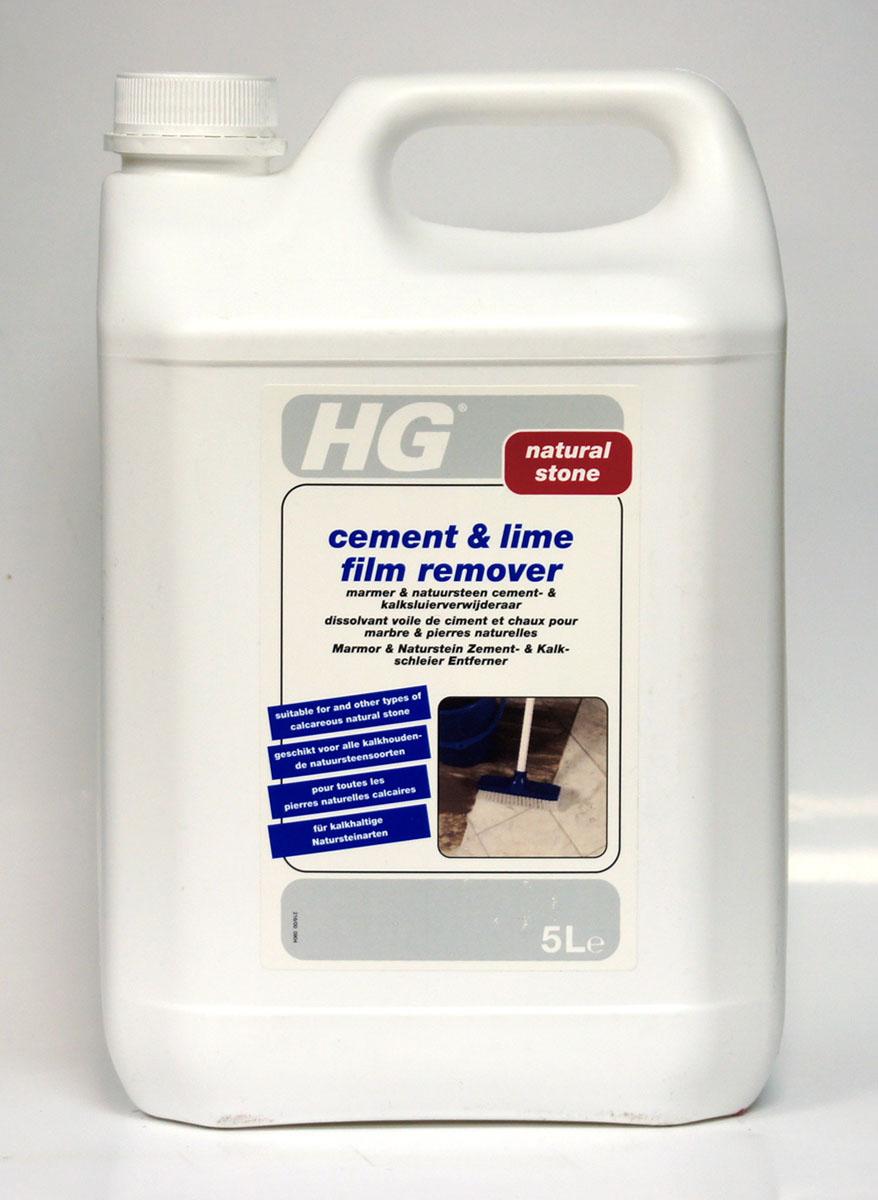 Средство для удаления цемента и извести с мрамора и натурального камня HG, 5 л - Бытовая химия