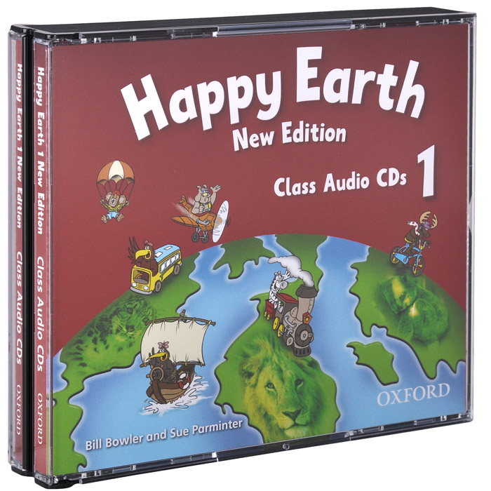 Happy Earth 1: New Edition: Class Audio (аудиокурс на 3CD) soars l new headway upper intermediate class audio cds 4th edition