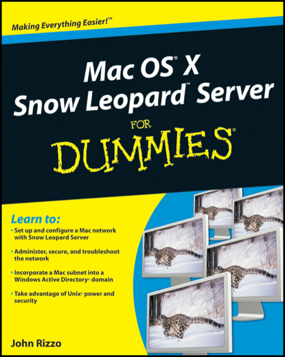 Mac OS X Snow Leopard Server For Dummies® wavelets processor