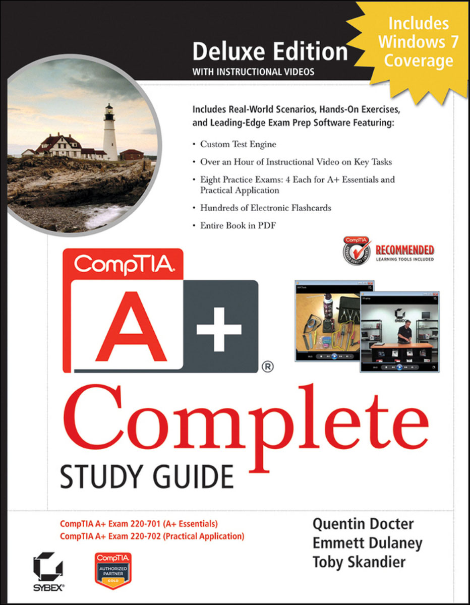 CompTIA A+® Complete Deluxe Study Guide troy mcmillan comptia a complete review guide exams 220 901 and 220 902