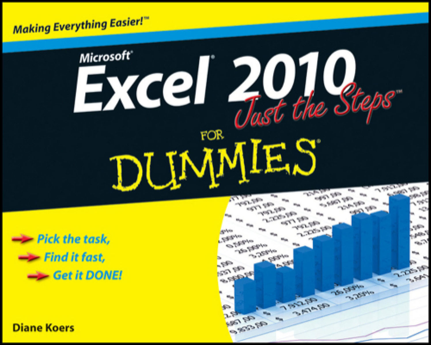 Excel® 2010 Just the Steps For Dummies® the imactm for dummies®