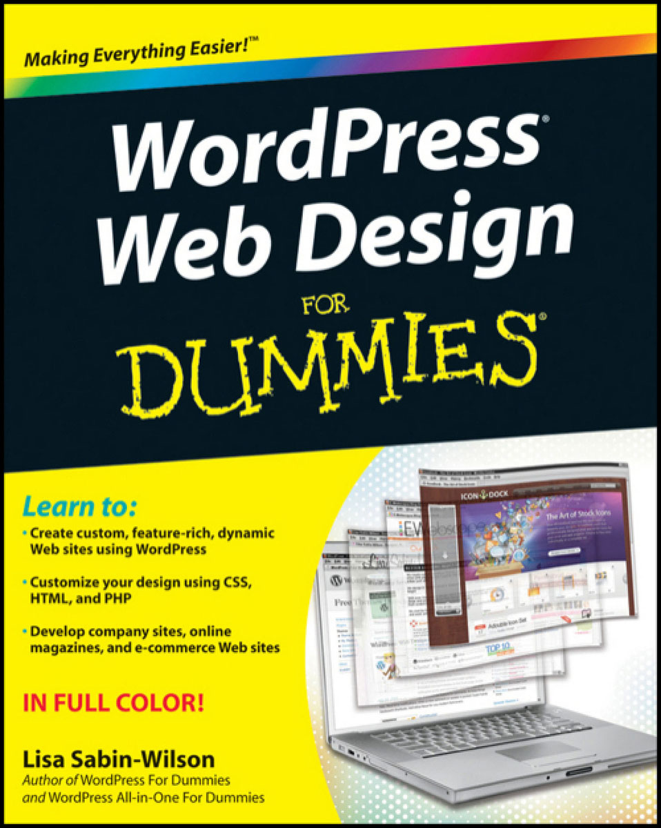 WordPress Web Design For Dummies bud smith e creating web pages for dummies