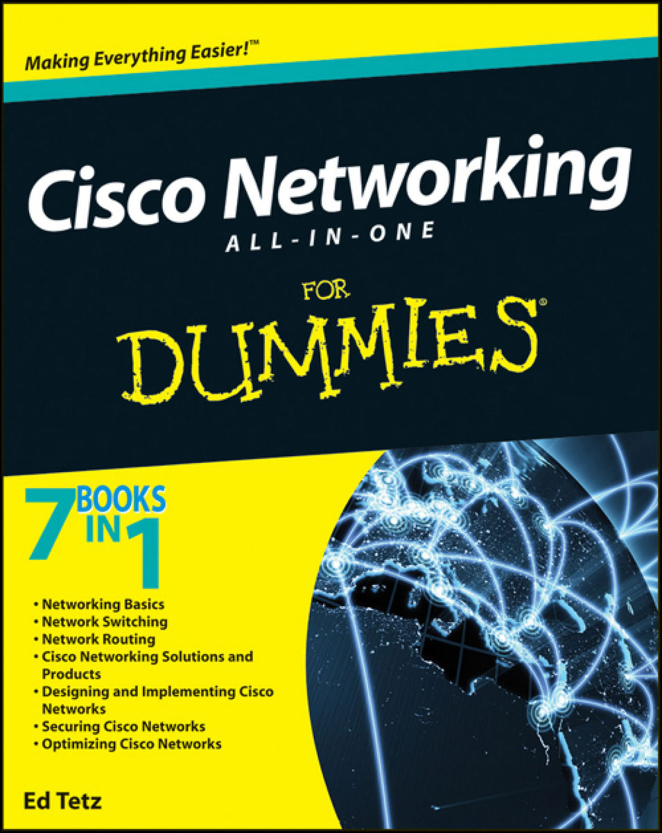 Cisco Networking All–in–One For Dummies® business networking for dummies