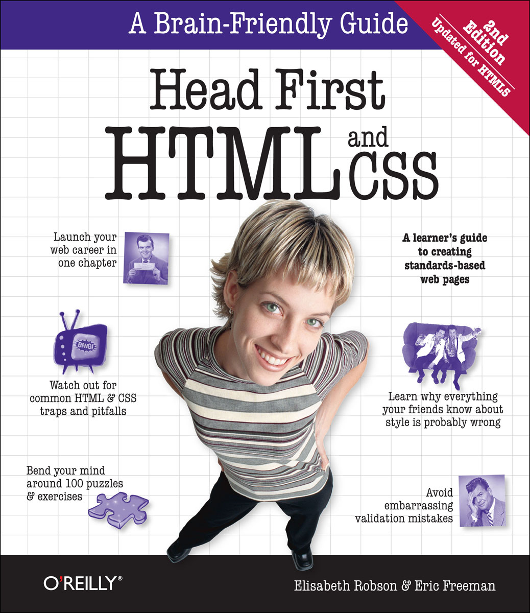 Head First HTML and CSS sitemap 3 html