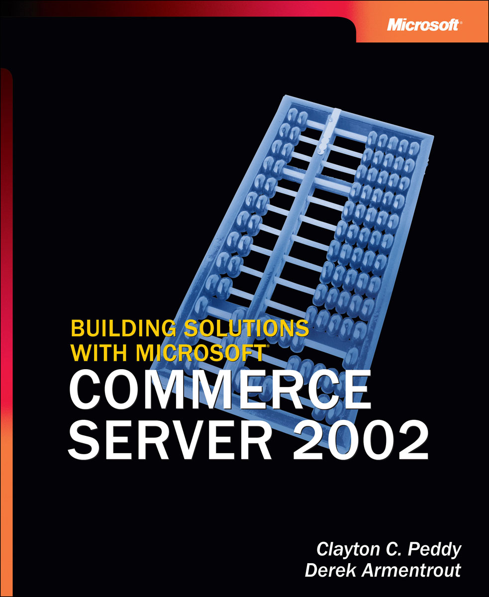 Building Solutions with Microsoft Commerce Server 2002 футболки jenks