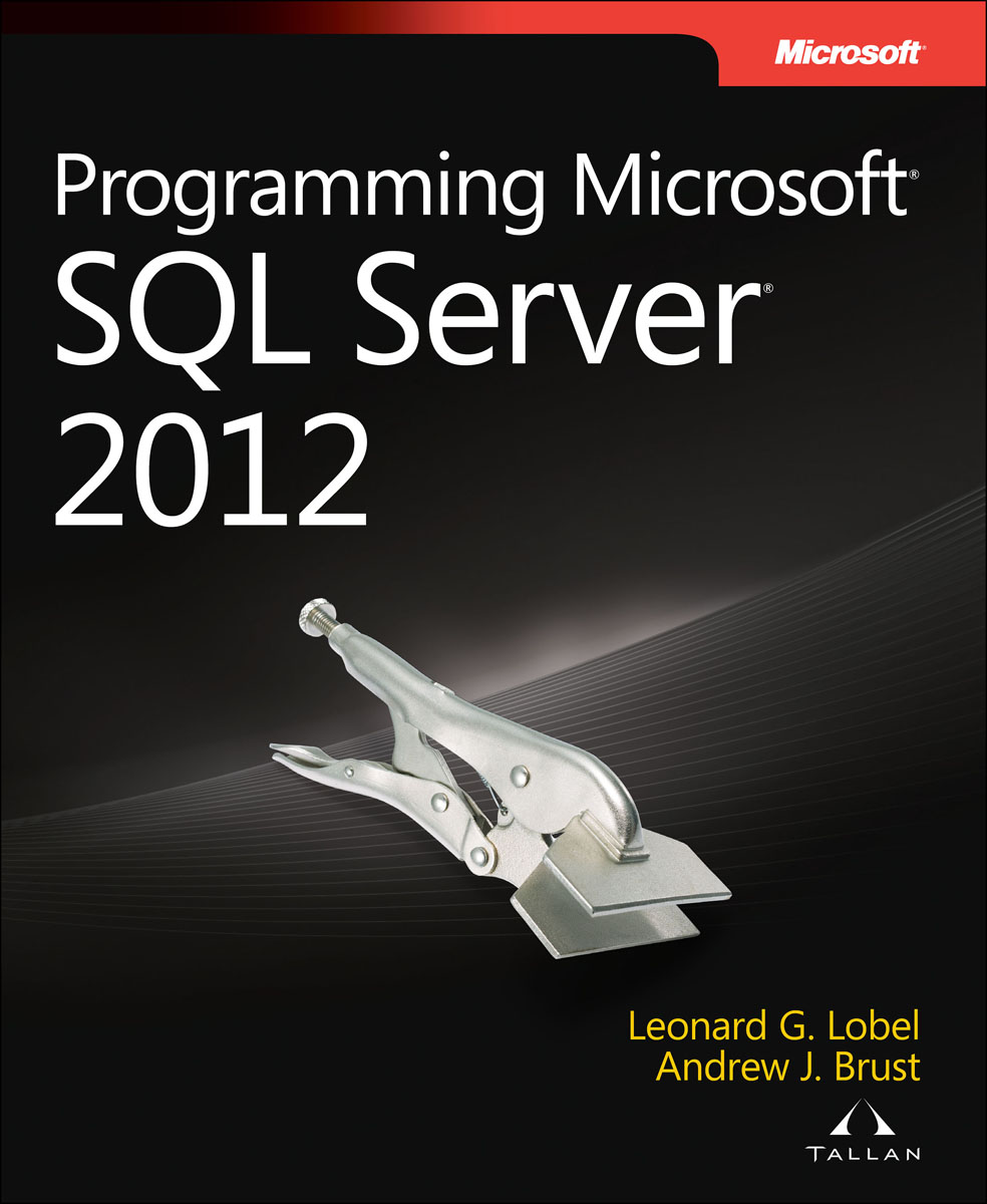 Programming Microsoft SQL Server 2012 oracie sql