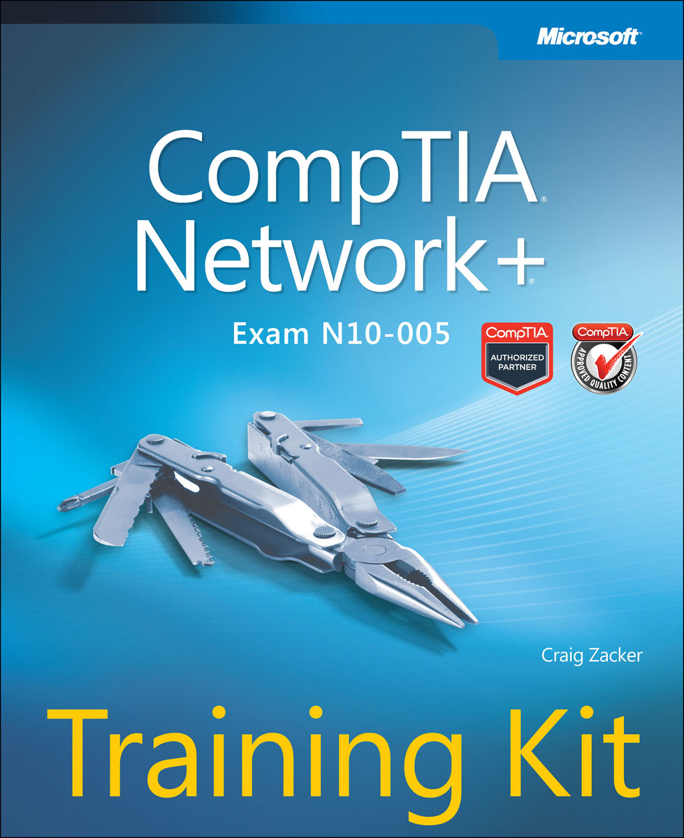 CompTIA Network+ Training Kit (Exam N10-005) richard blum comptia linux powered by linux professional institute study guide exam lx0 103 and exam lx0 104
