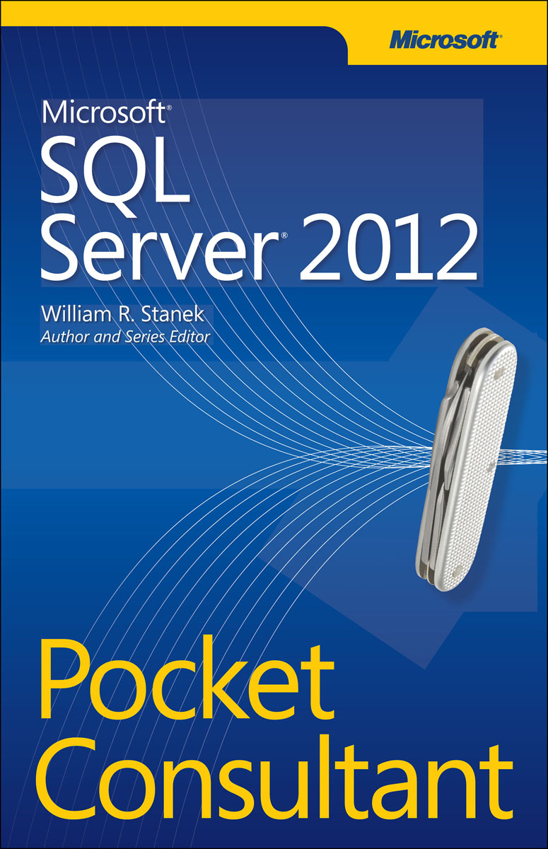 Microsoft SQL Server 2012 Pocket Consultant oracie sql